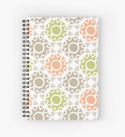 Geometric Pattern Spiral Notebook