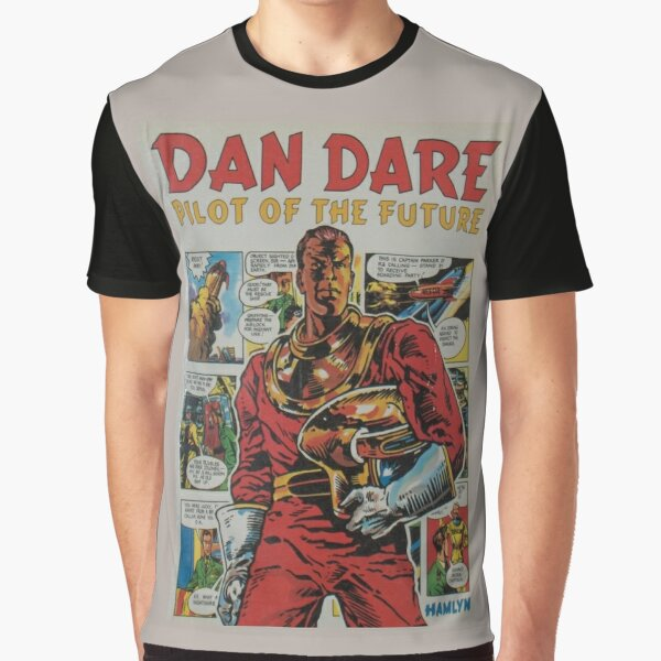 ' Dan Dare' retro comic book art Graphic T-Shirt