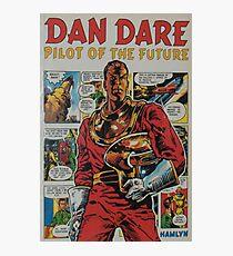 ' Dan Dare' retro comic book art Photographic Print