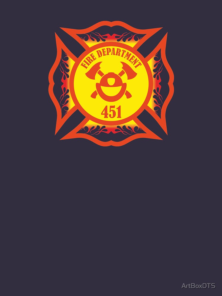Fire Department 451 by ArtBoxDTS