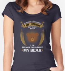 My Bear <3 Women's Fitted Scoop T-Shirt