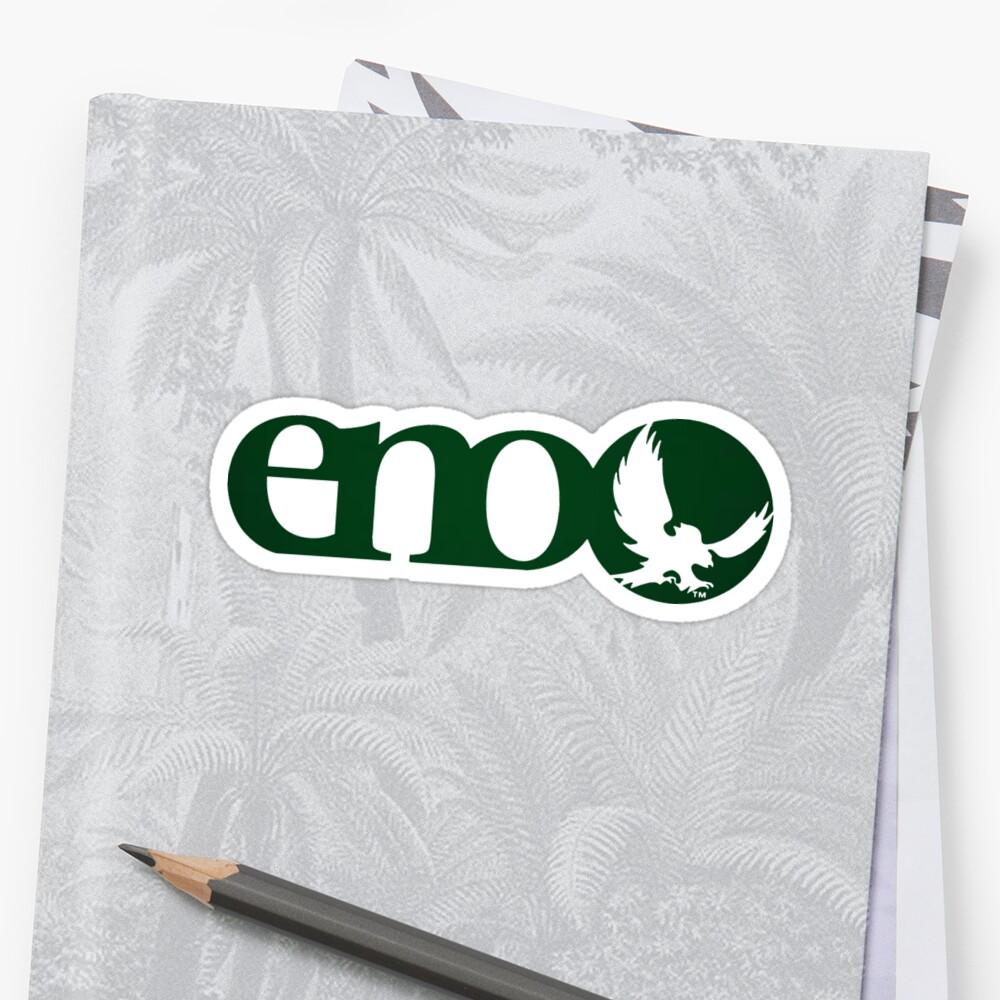 Eno - Forest Green Sticker