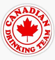 Canadian Drinking Team Sticker