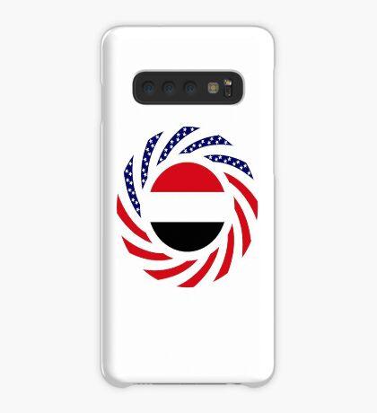 Yemeni American Multinational Patriot Flag Series Case/Skin for Samsung Galaxy