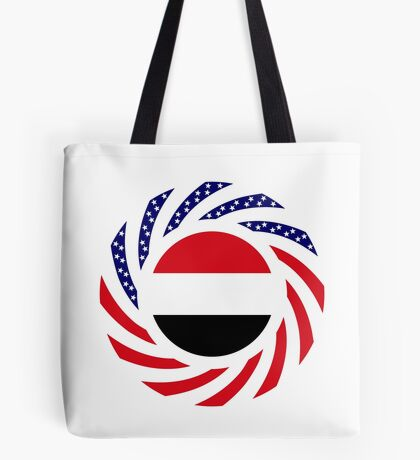 Yemeni American Multinational Patriot Flag Series Tote Bag
