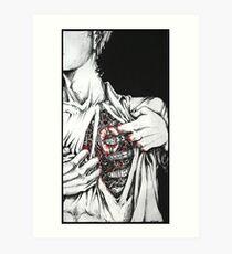 Open Heart Mechanics Art Print