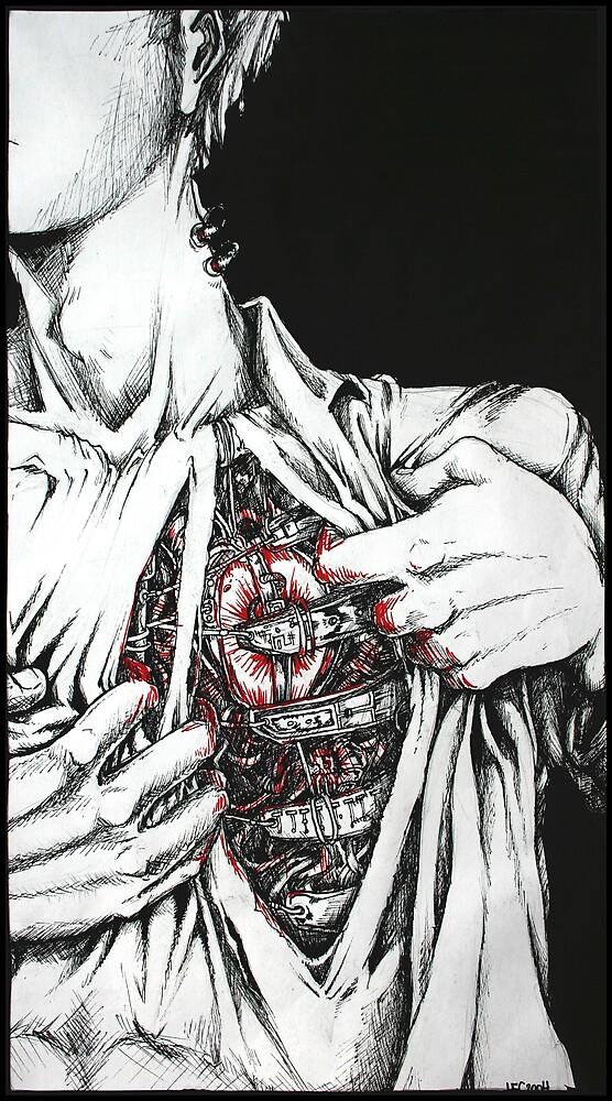 Open Heart Mechanics by redwhiteblack