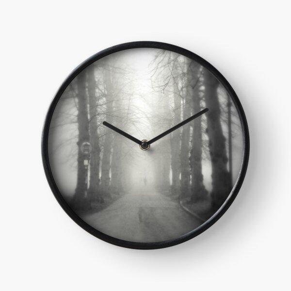 Misty Morning Clock