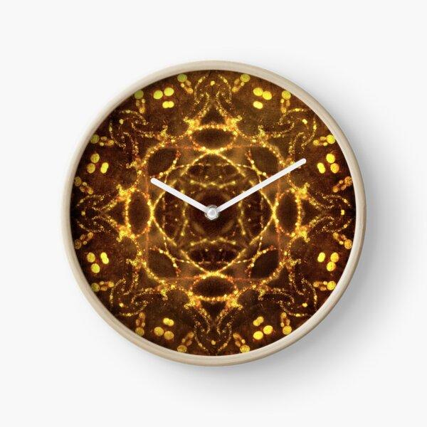 Bejeweled Clock
