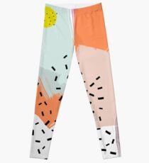 Snigger // Abstract Pattern Bright Leggings