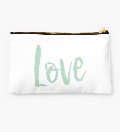 Love in Blue Studio Pouch