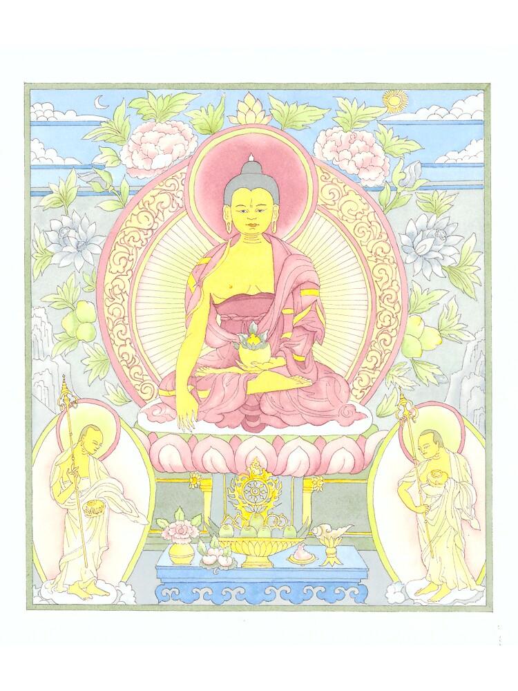 Sakyamuni Buddha by Jenny Opie