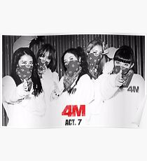 4minute : act7 Poster