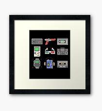 80s Essence Framed Print