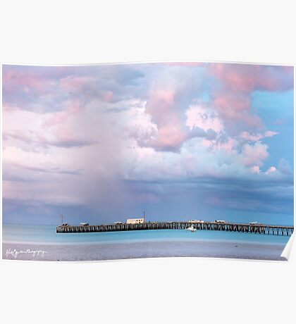 Broome Port Pastels Poster
