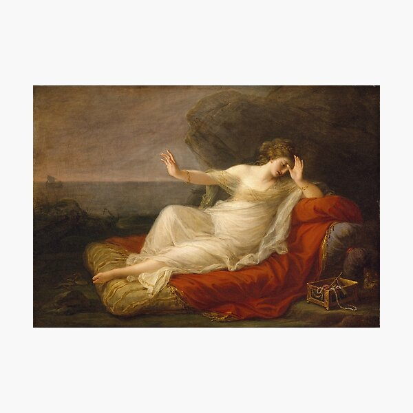 Angelica Kauffmann - Ariadne Abandoned By Theseus Photographic Print