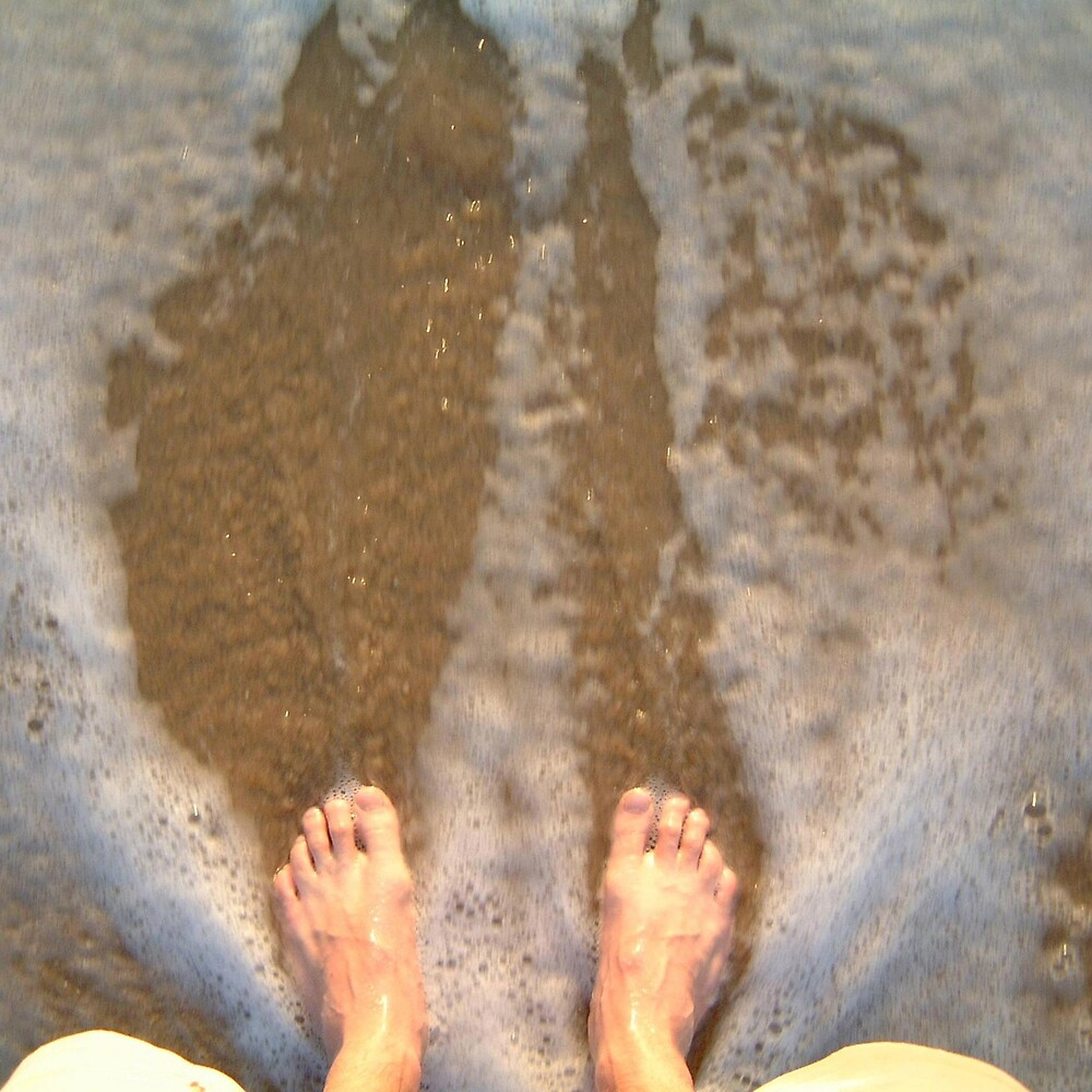 dawn water feet by Devan Foster