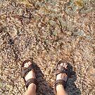 brown moss feet by Devan Foster