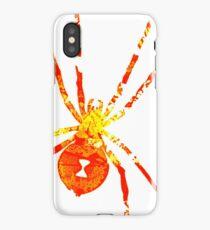 Arachnophilia-Orange/Red iPhone Case