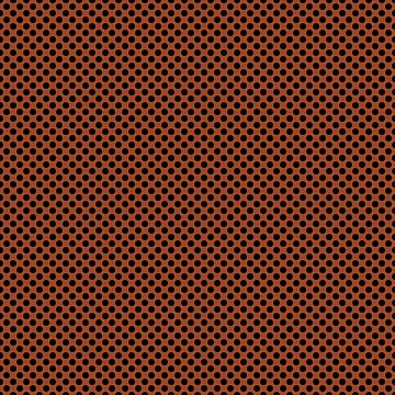 Potter's Clay and Black Polka Dots by SaraValor