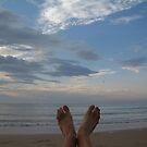 sky feet by Devan Foster