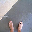 tap feet by Devan Foster