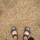 woodchip feet by Devan Foster