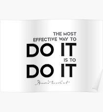 do it, do it - amelia earhart Poster