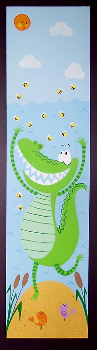 Happy Snappy Croc by ejkdesigns
