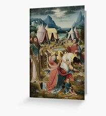 Gathering Of Manna 1510 Greeting Card