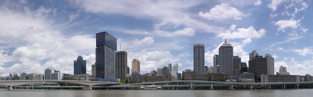 Brisbane City by David James