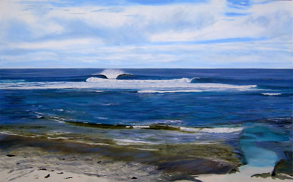 Surfers Point by Martin Clarke