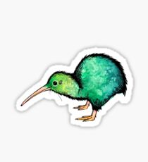 Cute Kiwi - Watercolour Art Sticker