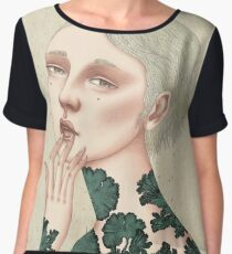 Glad You Looked? Chiffon Top