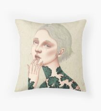 Glad You Looked? Throw Pillow