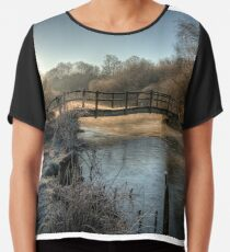 Bridge on the River Itchen Chiffon Top