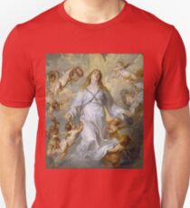 Anthony Van Dyck - The Virgin As Intercessor Unisex T-Shirt