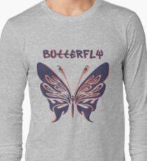 Beautiful amazing butterflies Long Sleeve T-Shirt