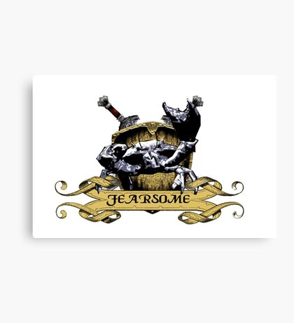More Fearsome Than You Canvas Print