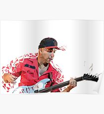Low Poly Tom Morello Poster