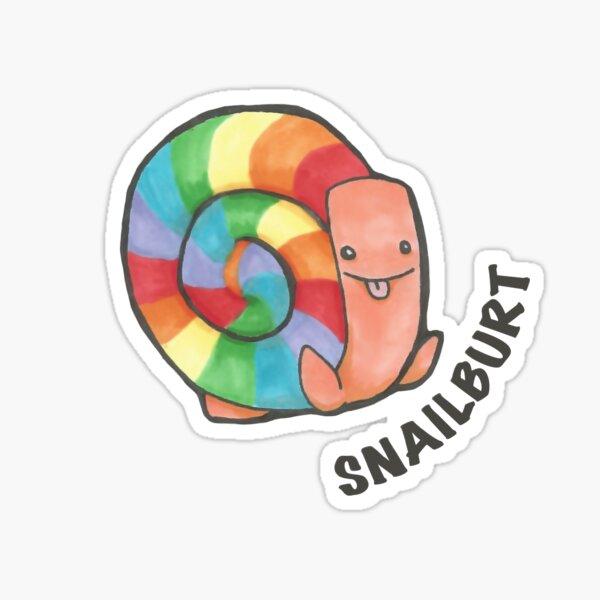 Snailburt Sticker