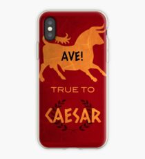 Ave! True to Caesar iPhone Case