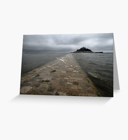St Michael's Mount, Cornwall  Greeting Card