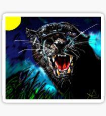 Pumpernickel Puma Sticker