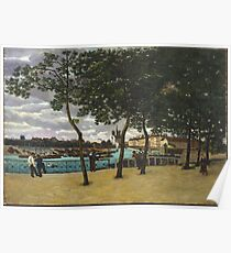 Armand Guillaumin - View Of The Seine, Paris 1871 Poster