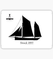 Smack 1893 by Tony Fernandes Sticker