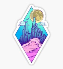 Mountain peak Sticker