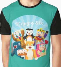 Stampy Cat and His Friends Graphic T-Shirt