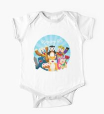 Stampy Cat and His Friends One Piece - Short Sleeve
