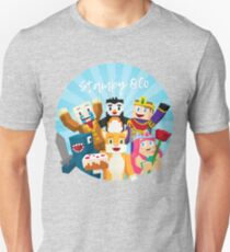 Stampy Cat and His Friends Unisex T-Shirt